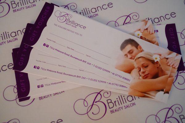 Brilliance Beauty Salon Gift Vouchers